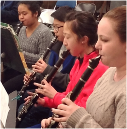 Clarinets in Dutchess County community band